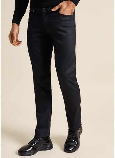 Bisse BPNJ19K19501 Slim Fit Siyah Jean Pantolon Siyah